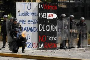VENEZUELA-scontri